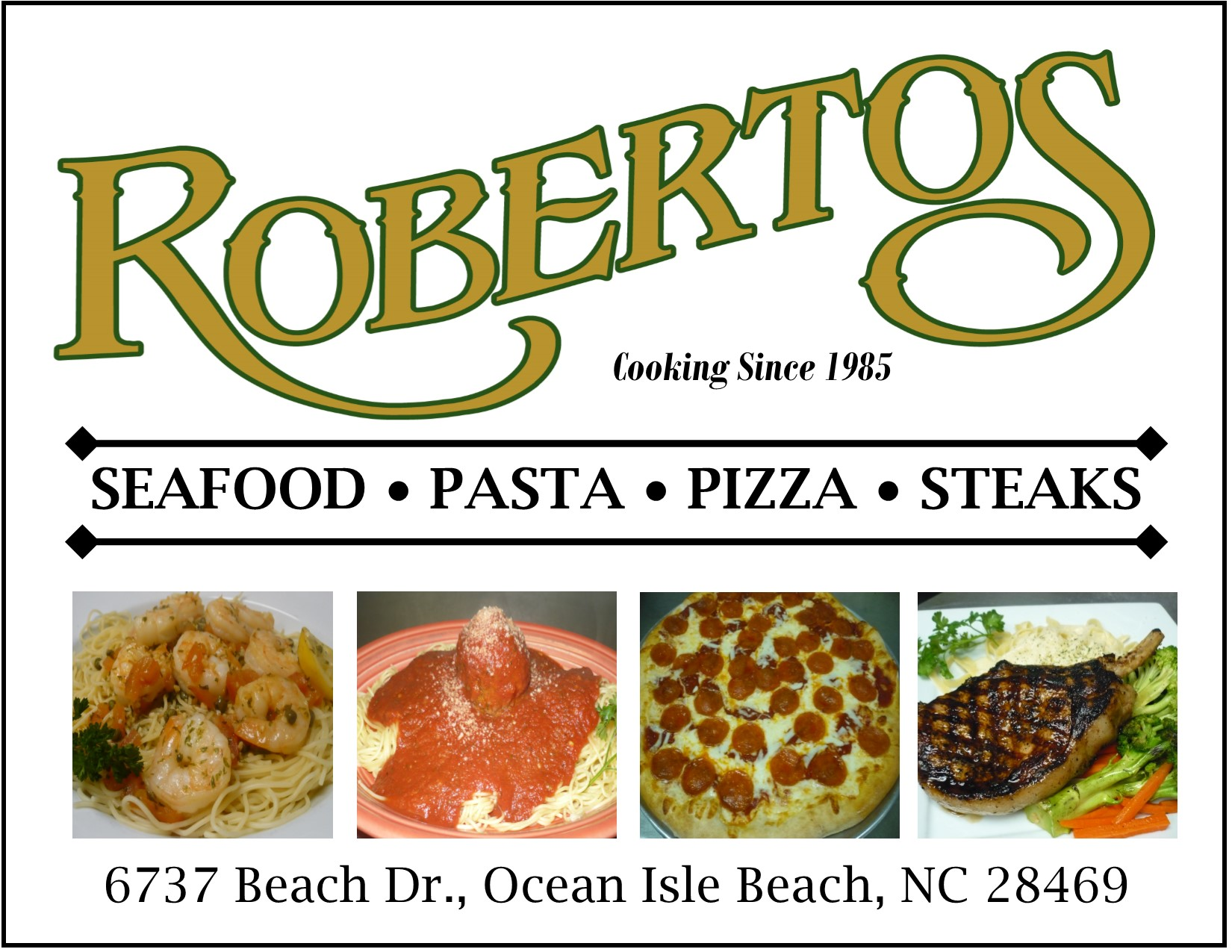Ocean Isle Beach Restaurant Coupons